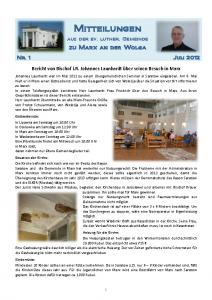 2012 Mitteilungen Nr. 1