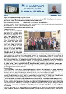 2013-1 Mitteilungen aus Marx