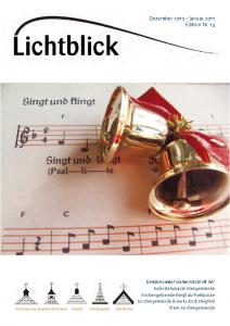 Ausgabe 013 Dezember 2010/Januar 2011